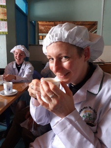 Tea in the tea factory